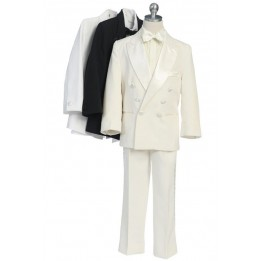 4 Piece Double Breasted Tuxedo Set