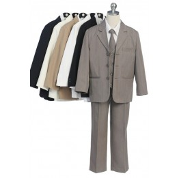 5 Piece Single Breasted 3 Button Suit