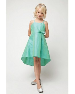 Hi-Lo Dupioni Dress