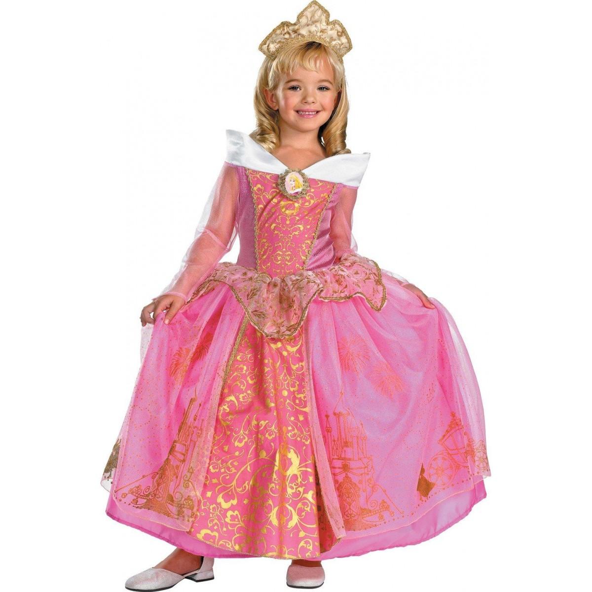 784ca3b6e75 Disney Storybook Aurora Prestige Toddler/Child Costume
