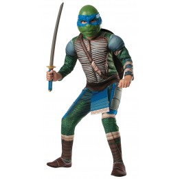 Teenage Mutant Ninja Turtle - Deluxe Leonardo Child Costume