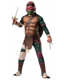 Teenage Mutant Ninja Turtle - Deluxe Raphael Child Costume