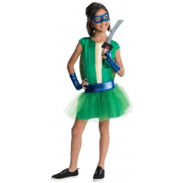 Teenage Mutant Ninja Turtle - Deluxe Leonardo Girl Tutu Costume