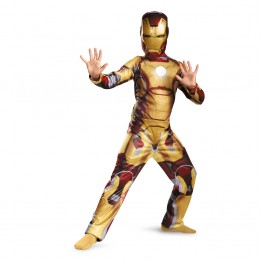 Iron Man Mark 42 Classic Childs Costume