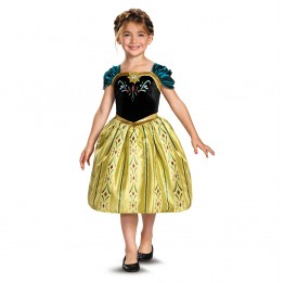 Disney Frozen Anna Coronation Toddler/Child Costume