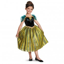 Disney Frozen Deluxe Anna Coronation Toddler/Child Costume