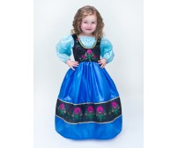 Frozen Anna Scandinavian Princess Replica Dress