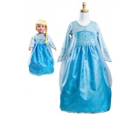 Frozen Queen Elsa Ice Princess Replica Child and Doll Dress Set