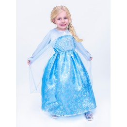 Frozen Queen Elsa Ice Princess Replica Dress