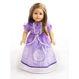 Sofia Inspired Doll Dress
