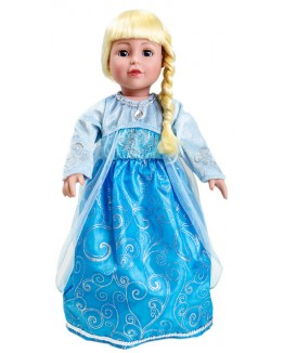 Frozen Queen Elsa Ice Princess Replica Doll Dress