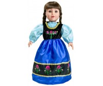 Frozen Anna Scandinavian Princess Replica Doll Dress